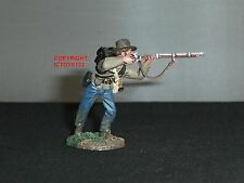 BRITAINS 31089 CONFEDERATE INFANTRY STANDING FIRING NO.3 TOY SOLDIER FIGURE