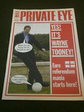 PRIVATE EYE #1109 - EURO REFERENDUM - JUNE 25 2004
