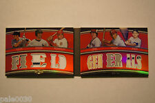 "2010 Triple Threads ""FIELD GENERALS"" Book BERRA/BENCH/POSADA/FISK #33/36"