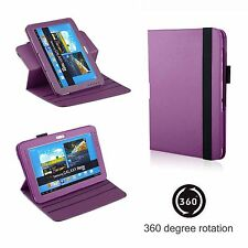 360° Rotatable PU Leather Case Protector for Samsung Galaxy Tab 2 10.1'' Tablet