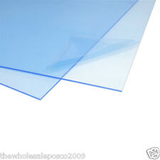 1.5MM VERY THIN CLEAR ACRYLIC PERSPEX SHEET A4 SIZE X 2