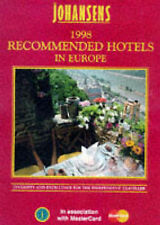 Johansens Recommended Hotels in Europe 1998, 186017504X, Very Good Book