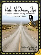 Highway safety book Valuable Driving Tips by Ralph Moore (2011, paperback)