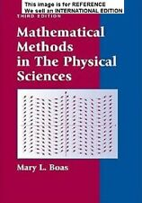 Mathematical Methods in the Physical Sciences by M. L. Boas(Int' Ed Paperback)3E