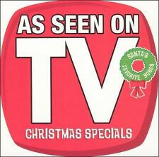 "TV Christmas Specials Music CD ""As Seen on TV"" Newly Recorded Hit Crew"