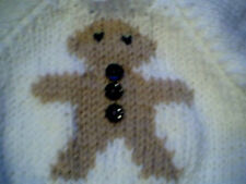 Customized Christmas Gingerbread Man Sweater Handmade for 18 inch Build A Bear
