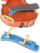 Kun Collapsible Mini Blue 1/16-1/4 Violin Shoulder Rest