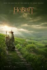 THE HOBBIT AN UNEXPECTED JOURNEY MOVIE POSTER 2 Sided ORIGINAL Advance 27x40