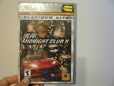Midnight Club II  (Xbox, 2003)-Factory sealed brand new