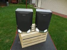 Sony Speakers,Matched Set, Model SS-RXD2