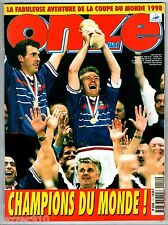 ONZE MONDIAL n°114 ¤ 07/1998 ¤ SPECIAL FRANCE CHAMPION DU MONDE FOOTBALL