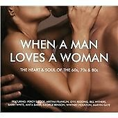 When a Man Loves a Woman - 2 CD Set - 60's 70's 80's Soul - New CD & Free P/P !