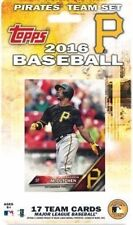 Pittsburgh Pirates 2016 Topps Factory 17 Card Team Set with McCutchen Cole Marte