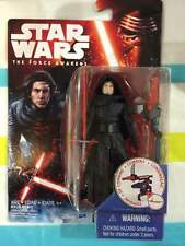 Star Wars The Force Awakens Wave 3 Carded Unmasked Kylo Ren 3.75 Inch Sealed
