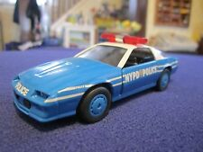NYPD NYC New York Police Chevy Camaro 1:43 O Scale Diecast Metal K-Line  Model