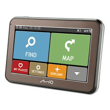 "Mio Spirit 5400LM 4.3"" Western European Lifetime Mapping IQ Routes GPS Sat Nav"