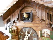 Trenkle Uhren ORIGINAL BLACK FOREST Cuckoo Clock Alpen Farm and Weather House!