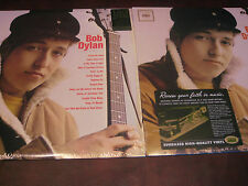 BOB DYLAN S/T 180 Gram COLUMBIA RECORDS STEREO LP + MONO MIXES COMBINATION 2 LPS