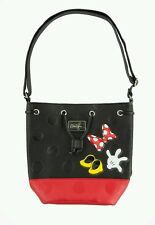 DISNEY PARKS MINNIE MOUSE BOUTIQUE MANIA BAG PURSE TASSEL BODY ICONS HEELS BOW