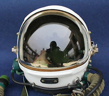 RARE Flight Helmet High Altitude Astronaut Space Pilots Pressured Size:1# XXL