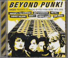 Beyond Punk! Mojo CD Post Punk 1978 2005 Siouxsie Banshees Fall Scritti Politti