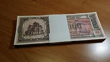 Belarus 100 banknotes (bundle) 10000 rubles 1994 (charity ticket) AUNC