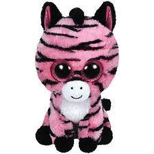 "TY Beanie Babies Boo's Zoey Zebra 6"" Stuffed Collectible Plush Toy NEW"