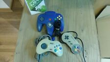 LOT MANETTES - SFC - N64 - SATURN - PS2 - pour pieces -