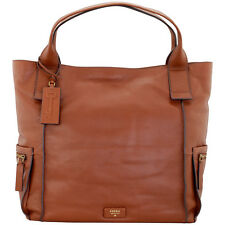 Fossil Emerson Tote Brown Leather Women's Handbag ZB6467200