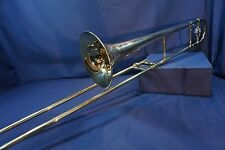 1924 CG Conn LTD 4H Professional Tenor Trombone made in Elkhart Ind USA