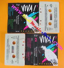 2 MC RICCARDO COCCIANTE Viva! 1988 italy VIRGIN VFMC 1001 no cd lp dvd vhs