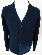$1150 NWT BRIONI Blue Cable Knit Cardigan Jacket Sweater Size Small