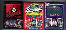 3 New Decks of Baseball  Playiing cards 1991 All Stars 1992 Aces 1993 Rookies