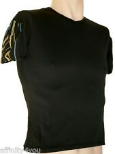 HOM DESIGN SMITH WH02 NOIR/RAYURES T-SHIRT TAILLE 2