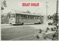 6H558 1951 LOS ANGELES TRANSIT LINE STREET CAR #1254 LINCOLN PARK