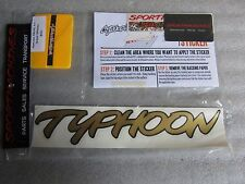 1993 GMC Truck Gold Typhoon Decal Kit