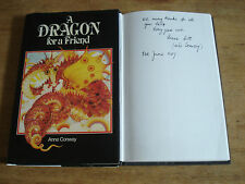 Dragon for a Friend , Conway, Anne. SIGNED FIRST EDITION HARDBACK 1980