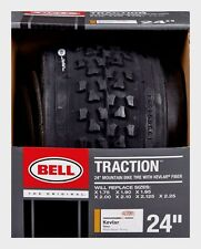 """New! BELL SPORTS 24"""" Bike Tire Mountain Tread Bicycle 24""""x1.75"""" - 2.125"""" 7014769"""