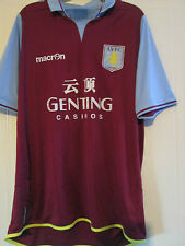 Aston Villa 2012-2013 Home Football Shirt Extra Large /39464