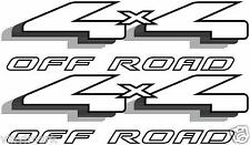Vinylmark 4x4 Off Road Decals Fits 1997-1999 Ford F150 F250 F350 Truck - Black