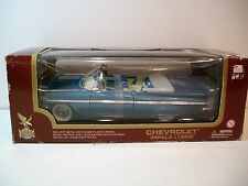 NIB 1:18 Scale Blue 1958 Chevrolet Impala Convertible Die-cast By Yat Ming