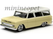 GREENLIGHT 86058 1966 66 CHEVROLET SUBURBAN 1/43 DIECAST MODEL CAR YELLOW