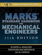 Marks' Standard Handbook for Mechanical Engineers 11th Edition, Sadegh, Ali, Bau