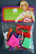 FACTORY SEALED Vintage Barbie, Maddie P.J. & Skipper 40 MOD ACCESSORIES