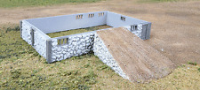 Walthers 933-3331 HO Fieldstone Barn Base & Ramp Building / Structure Kit