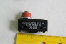 NOS Micro Switch WZ-3RDST1 125/250/460 VAC Microswitch
