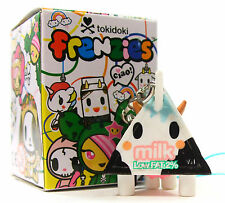 Tokidoki CLASSIC FRENZIES LOW FAT 2% MILK Moofia Zipper Pull Keychain Figure