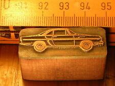 RENAULT FLORIDE CARAVELLE   schöner Oldtimer Stempel / Siegel aus Metall