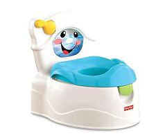 Fisher-Price Learn-to-Flush Potty, Training Learning Toilet, New, Free Shipping