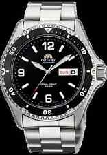 Orient  Silver Men's Diver Watch Automatic Mako Black Dial AA02001B